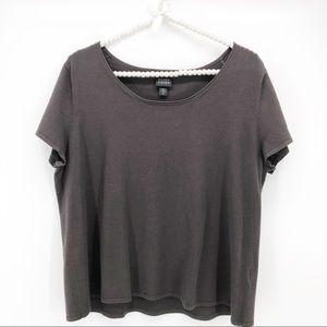 Eileen Fisher Modal Short Sleeve Top - XL